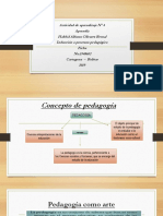 diapositivas trabajo de pedagogia