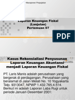 laporan keuangan fiskal