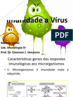 Palestra - Imunidade a Vírus