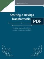 Starting a Devops Transformation
