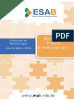 Manual projeto interdisciplinar esab