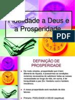Fidelidade a Deus e a Prosperidade (1)