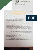 Decreto aumento boleto colectivo Paraná 1/08/2019