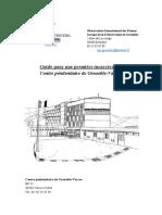 Guide pour une première incarcération 2019 - Centre pénitentiaire de Grenoble-Varces