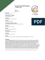 Devolpement of expusremo model for seismic risk