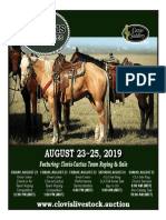 Clovis Horse Sales Fall 2019 Catalog