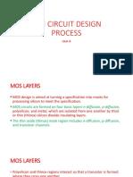 VLSI Circuit Design Process-Unit-II