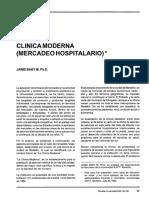 Caso de Mercadeo Hospital Moderno