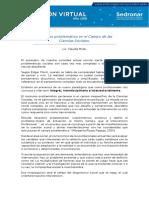 Consumo Problemático en El Campo de Las Ciencias Sociales - Lic. Claudia Mella