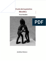 El arte de la práctica filosófica