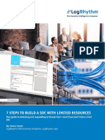 Apj Seven Steps to Build a Soc With Limited Resources White Paper