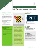 Ubicacion y Senhalética Para Extintores