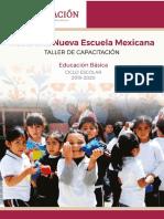 Taller de Capacitación_Hacia Un Nueva Escuela Mexicana