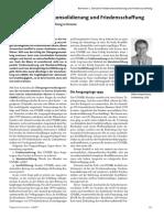 Zwischen Friedenskonsolidierung und Friedensschaffung