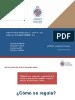 Responsabilidad Legal de Los Ingenieros Civiles Chilenos en La Construcción