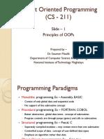 Slide 1 - Principles of OOPs