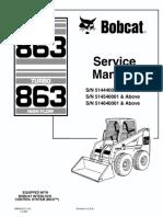 Bobcat 963 Service manual
