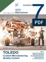 Toledo Manufacturing Case Final