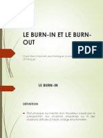 Le Burn-In Et Le Burn-out