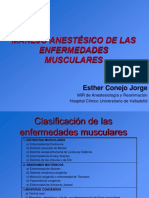 Enfermedades -Musculares Manejo -Anestesico
