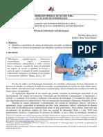 Sistemas de informação na enfermagem