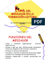 El Papel Del Mediador en La Formación Lectora (Emanuel Pichón Mora)