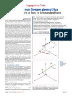 Analisi Non Lineare Geometrica Di Strutture a Funi e Tensostrutture (3)