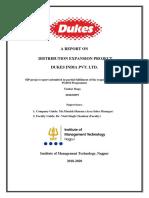 SIP Report Tushar Daga 201832097 Final