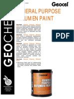 Bitumen Paint Data Sheet