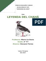 LEYENDA CHAHA