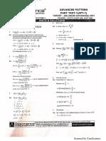 Answer Key Advance Test(Reso)
