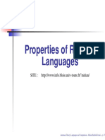 Closure Properties of Regular Languages