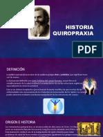 Historia de la quiropractica