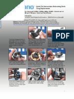 Instruction Sheets Shimano Quick Fix Baitcasting Reels