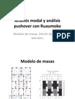 7. Analisis Modal y Analisis Pushover en Ruaumoko