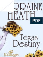 Heath Lorraine - Leigh Brothers Texas 01 - Texas Destiny (Trad)