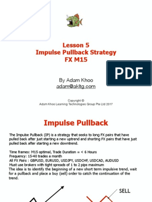 Impulse pullback strategy pdf