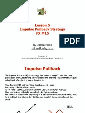 Impulse pullback