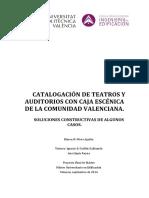 Catalogo de Teatros España