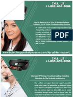 Contact HP Printer Troubleshooting Number To Avail Instant Help