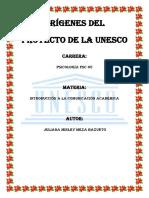 ORÍGENES DEL PROYECTO DE LA UNESCO.docx