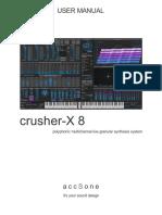 Crusher-X 8 User Manual