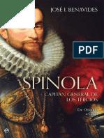 Benavides Jose I - Spinola - Capitán General de Los Tercios