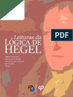 Agemir Bavaresco et all (Orgs.) - Leituras da Lógica de Hegel Vol. 1 - Ed. Fi.pdf
