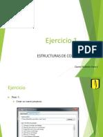 Ejercicio - Estructuras de Control - If - Switch