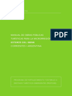 ANTEPROYECTO-MANUAL DE OBRAS PUBLICAS TURISTICAS PARA LA MICROREGION ESTEROS DEL IBERA.pdf