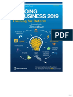 Doing Business in Zimbabwe 2019 Report