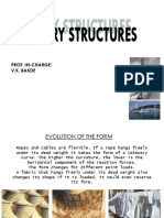Caternary structure