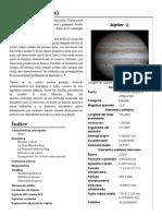 Júpiter, Planeta