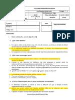 Examen Parcial II - Grupo a Modificado Solución